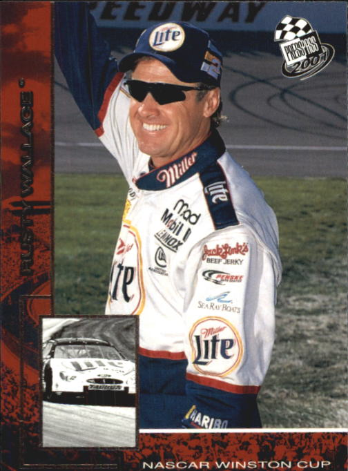 2001 Press Pass #7 Rusty Wallace