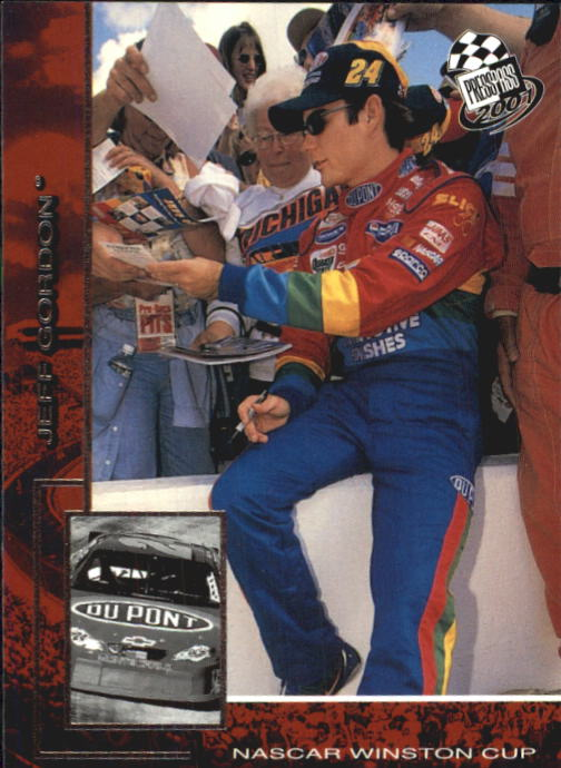 2001 Press Pass #9 Jeff Gordon