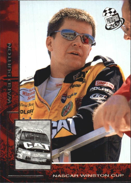 2001 Press Pass #10 Ward Burton