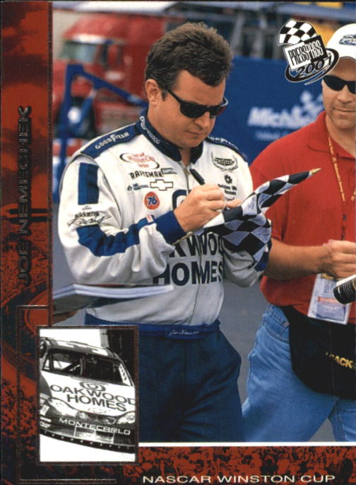 2001 Press Pass #14 Joe Nemechek