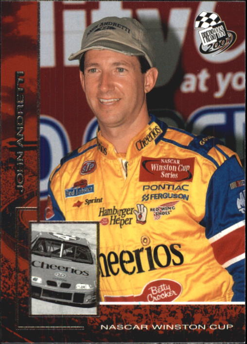 2001 Press Pass #21 John Andretti