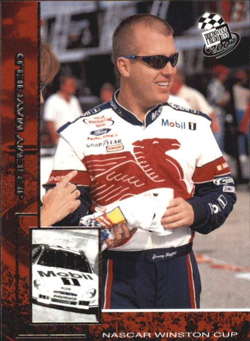 2001 Press Pass #22 Jeremy Mayfield