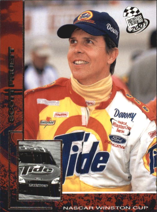 2001 Press Pass #34 Scott Pruett