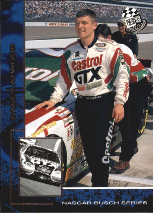 2001 Press Pass #41 Casey Atwood
