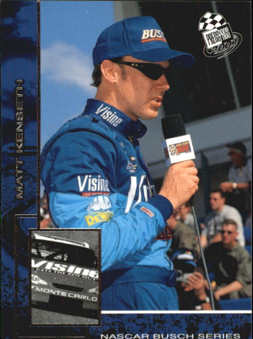 2001 Press Pass #45 Matt Kenseth