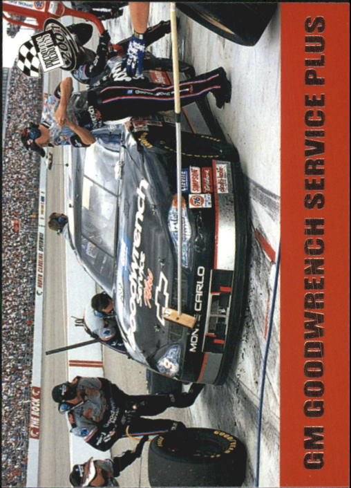 2001 Press Pass #49 Dale Earnhardt's Car