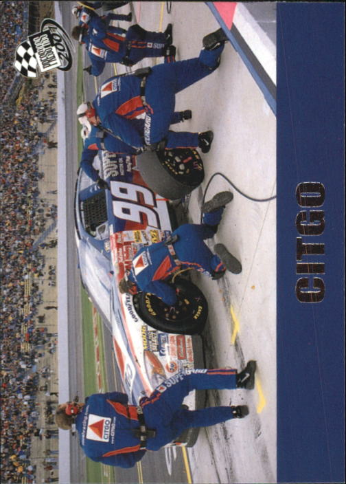 2001 Press Pass #50 Jeff Burton's Car