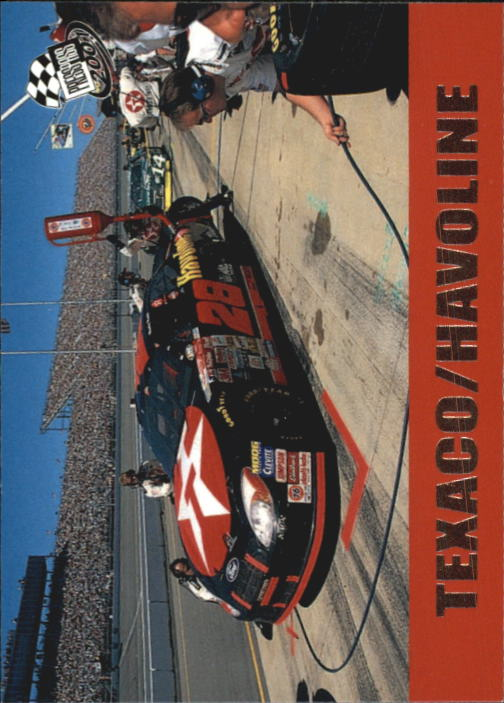 2001 Press Pass #52 Ricky Rudd's Car