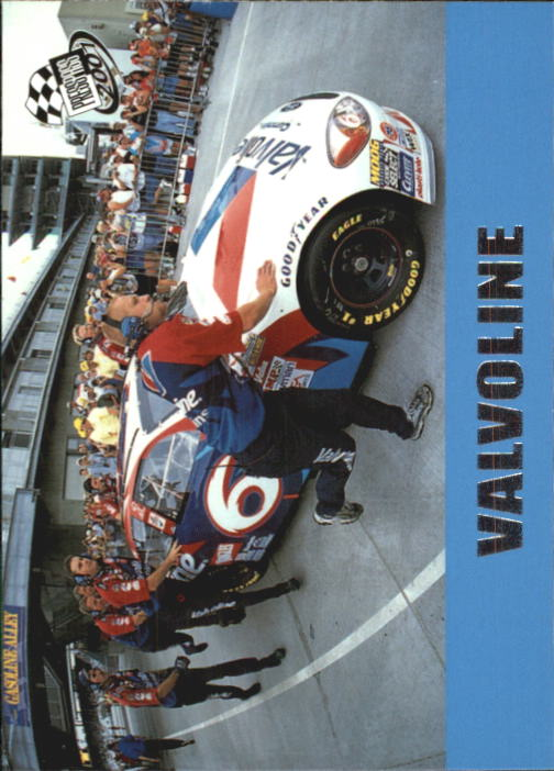2001 Press Pass #55 Mark Martin's Car