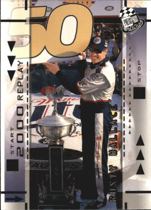 2001 Press Pass #65 Rusty Wallace REP