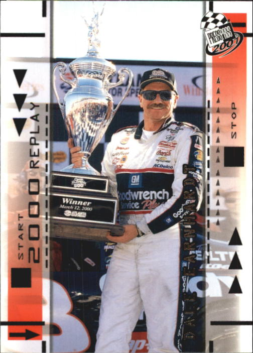 2001 Press Pass #67 Dale Earnhardt REP