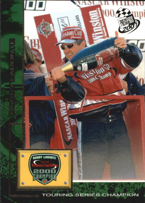 2001 Press Pass #71 Bobby Labonte REP