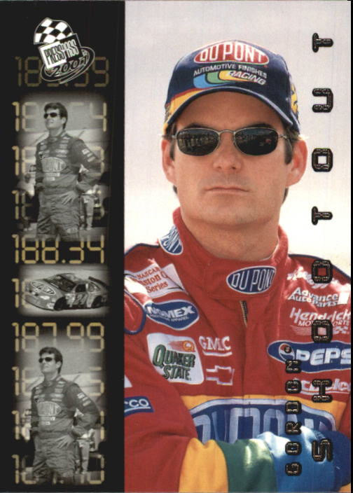 2001 Press Pass #88 Jeff Gordon SO