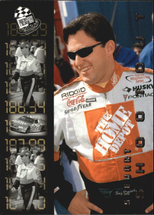 2001 Press Pass #92 Tony Stewart SO