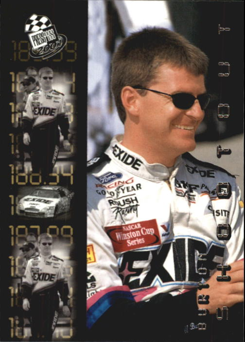 2001 Press Pass #93 Jeff Burton SO