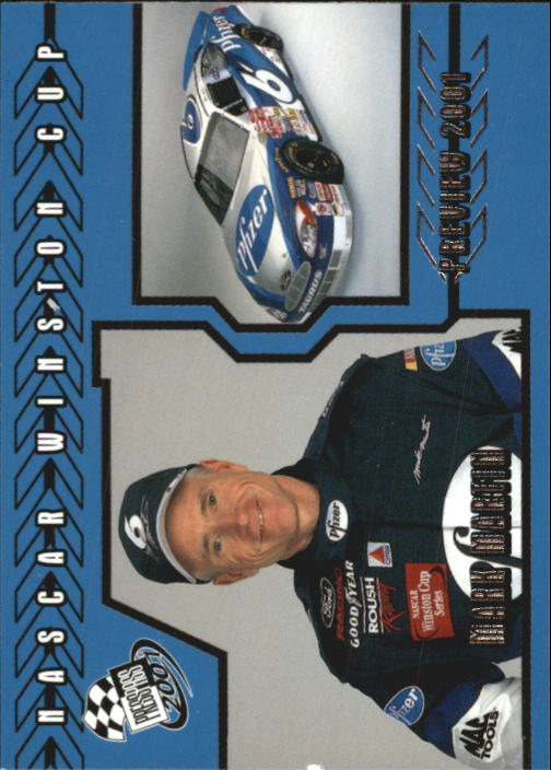 2001 Press Pass #98 Mark Martin PV
