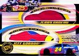2002 Press Pass Eclipse Under Cover Double Cover #DC1 Jerry Nadeau/Jeff Gordon