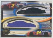2002 Press Pass Eclipse Under Cover Double Cover #DC3 Jeff Gordon/Terry Labonte