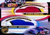 2002 Press Pass Eclipse Under Cover Double Cover #DC4 Jerry Nadeau/Jimmie Johnson