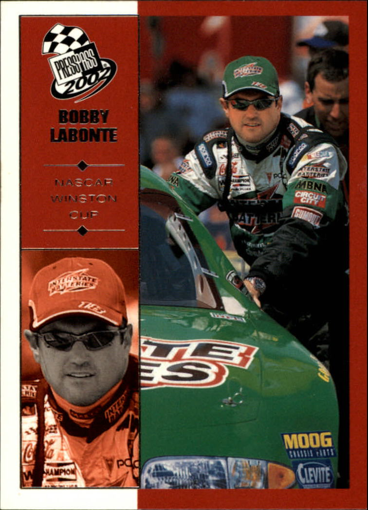 2002 Press Pass #18 Bobby Labonte