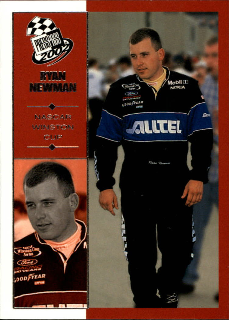 2002 Press Pass #26 Ryan Newman CRC