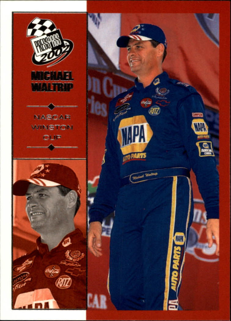2002 Press Pass #36 Michael Waltrip