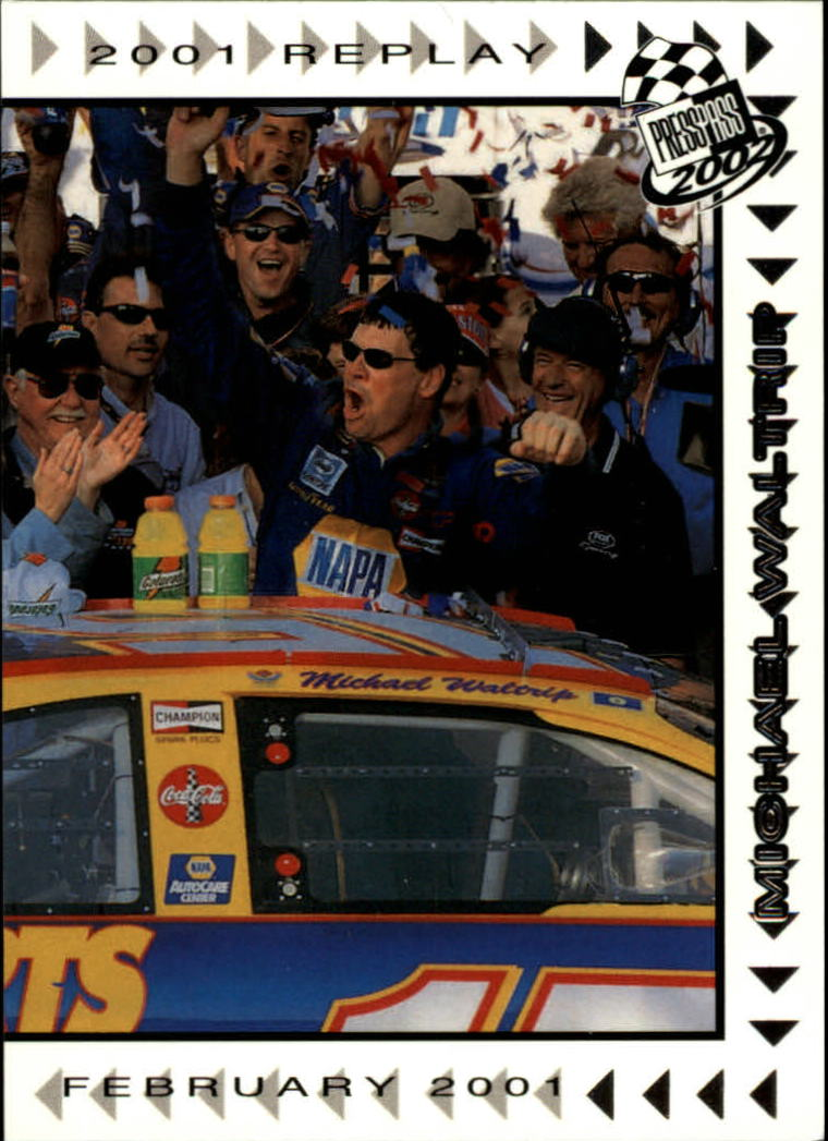 2002 Press Pass #64 Michael Waltrip REP