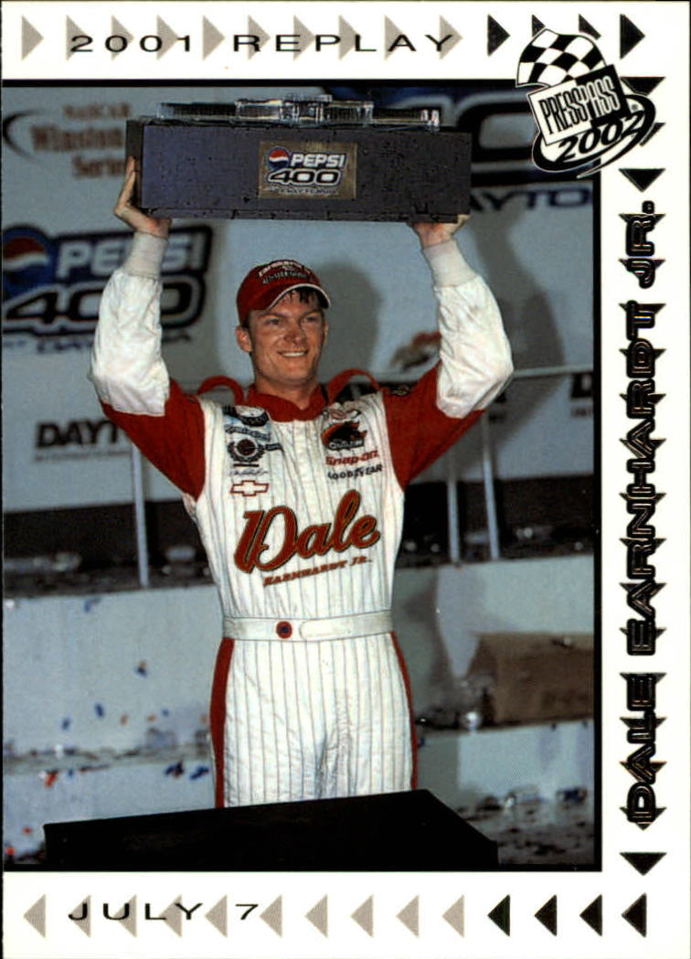 2002 Press Pass #75 Dale Earnhardt Jr. REP