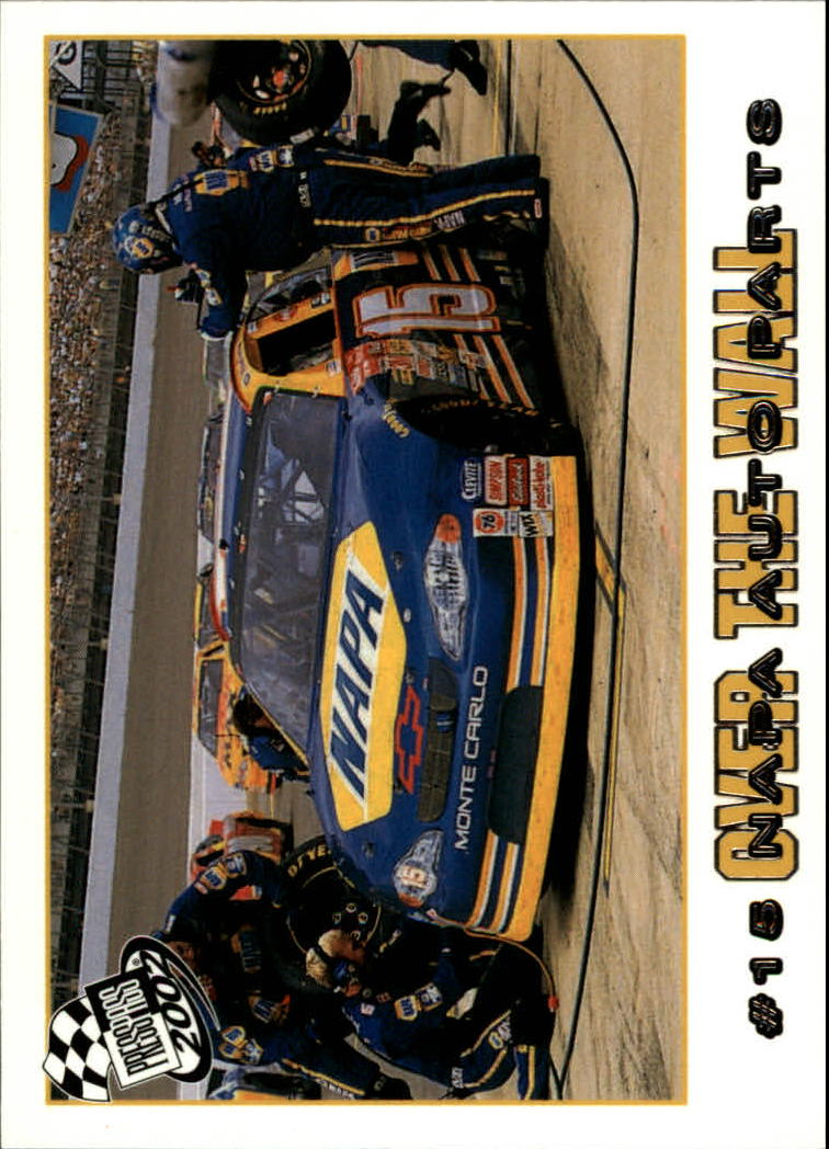 2002 Press Pass #78 Michael Waltrip's Car front image