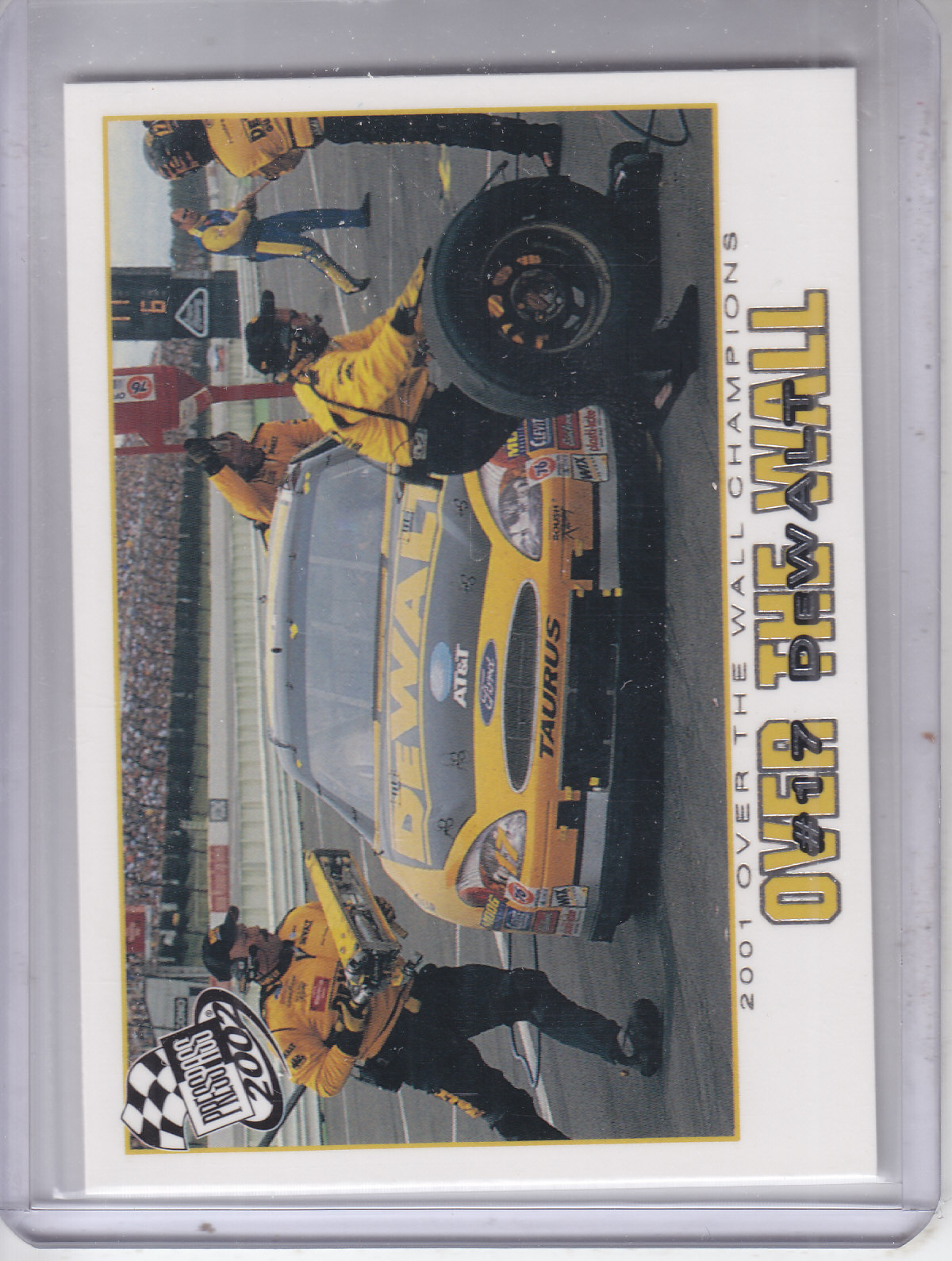 2002 Press Pass #79 Matt Kenseth's Car