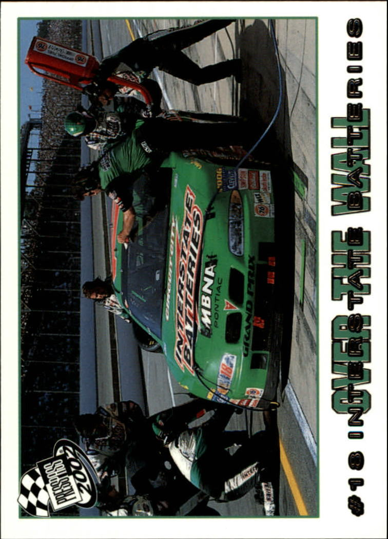 2002 Press Pass #80 Bobby Labonte's Car front image