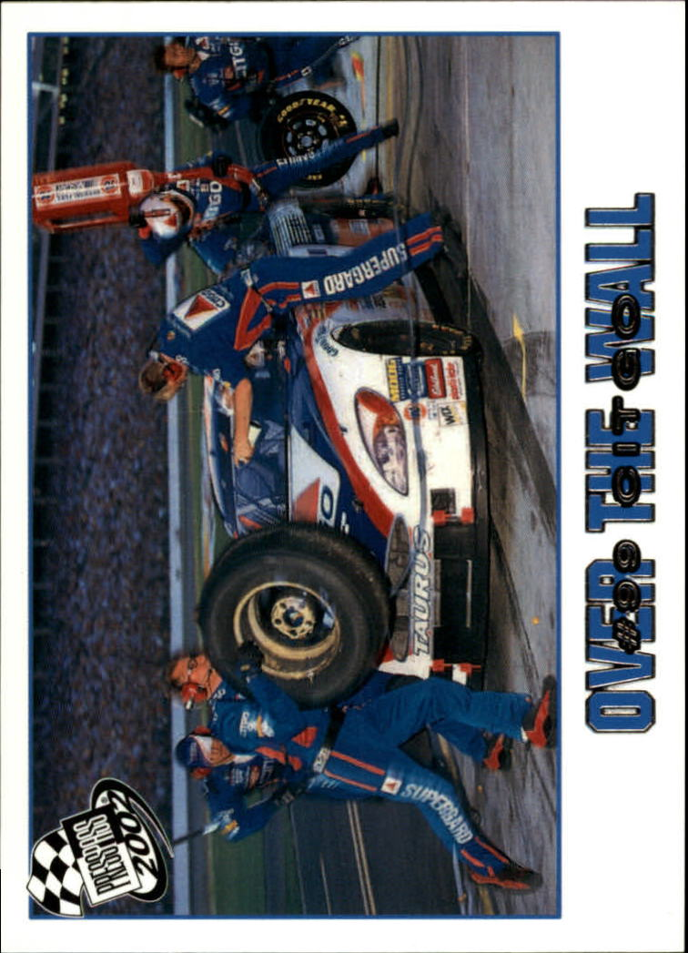 2002 Press Pass #88 Jeff Burton's Car