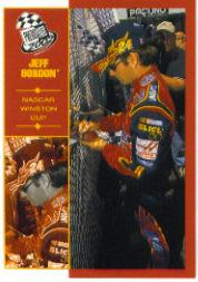 2002 Press Pass Platinum #11 Jeff Gordon