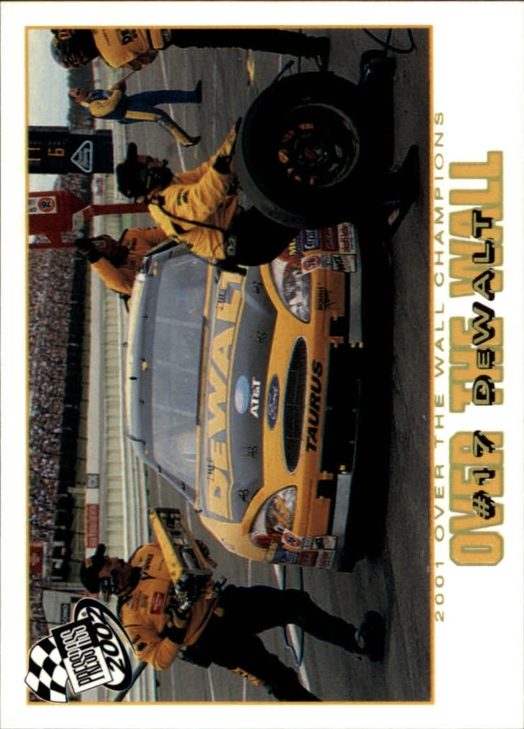 2002 Press Pass Platinum #79 Matt Kenseth's Car