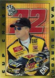 2002 Press Pass Cup Chase Prizes #CC2 Ward Burton