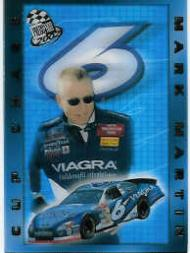 2002 Press Pass Cup Chase Prizes #CC10 Mark Martin