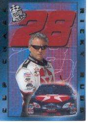 2002 Press Pass Cup Chase Prizes #CC12 Ricky Rudd
