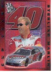 2002 Press Pass Cup Chase Prizes #CC14 Sterling Marlin