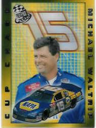 2002 Press Pass Cup Chase Prizes #CC17 Michael Waltrip