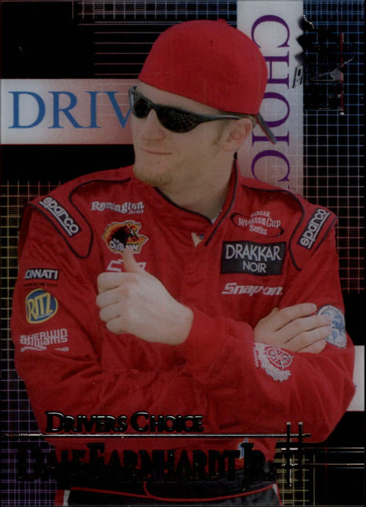 2002 VIP Driver's Choice Transparent #DC4 Dale Earnhardt Jr.