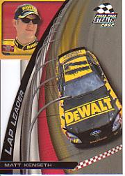 2002 Press Pass Stealth Lap Leaders #LL14 Matt Kenseth