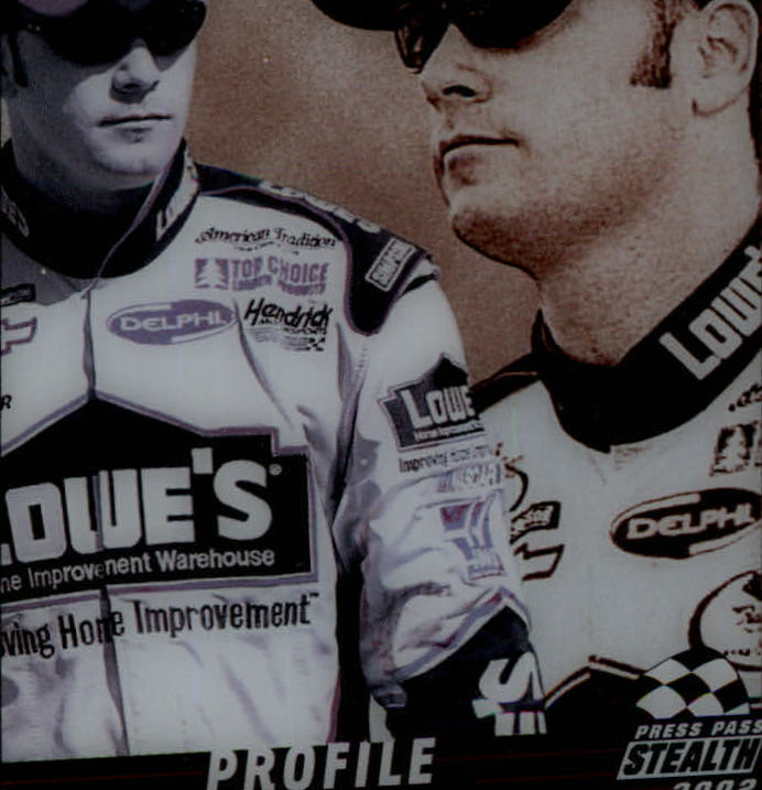 2002 Press Pass Stealth Profile #P5 Matt Kenseth