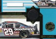 2002 Press Pass Stealth Race Used Glove Cars #GLC10 Kevin Harvick's Car