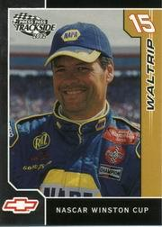 2002 Press Pass Trackside #12 Michael Waltrip front image
