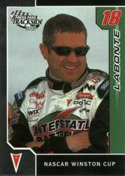 2002 Press Pass Trackside #13 Bobby Labonte