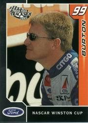 2002 Press Pass Trackside #18 Jeff Burton