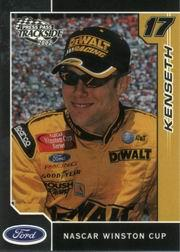 2002 Press Pass Trackside #22 Matt Kenseth