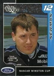 2002 Press Pass Trackside #24 Ryan Newman CRC