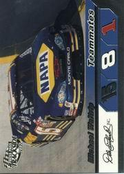 2002 Press Pass Trackside #74 Michael Waltrip TM front image
