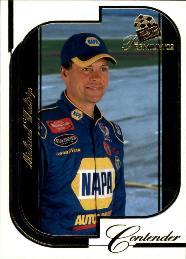 2002 Press Pass Premium #33 Michael Waltrip